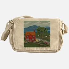 Dream Cottage Messenger Bag