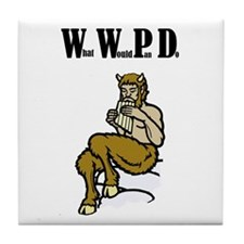 WWPD - What Would Pan Do - Tile Coaster