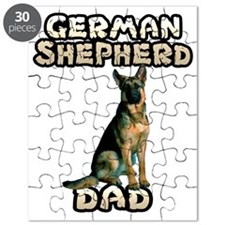German Shepherd Dad Puzzle