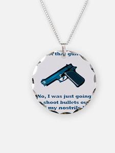 Got that gun? Necklace