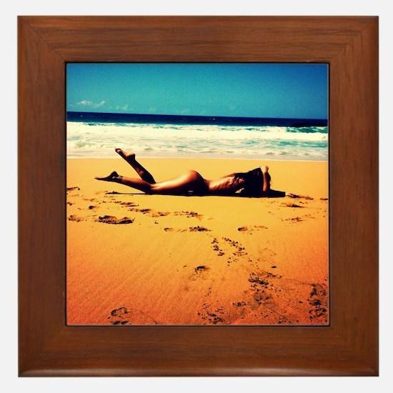 Saturated Framed Tile