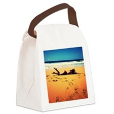 Saturated Canvas Lunch Bag
