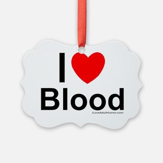 Blood Ornament