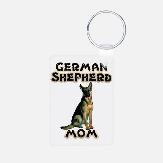 German Shepherd Mom Keychains