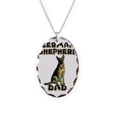 German Shepherd Dad Necklace
