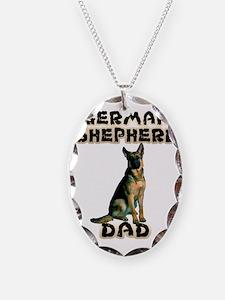 German Shepherd Dad Necklace
