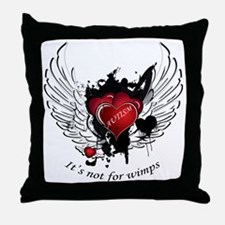 Autism - Its not for wimps Throw Pillow