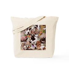 Happy Bunnies Tote Bag