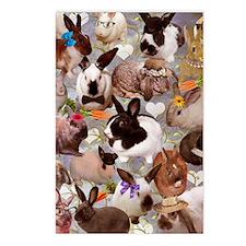 Happy Bunnies Postcards (Package of 8)