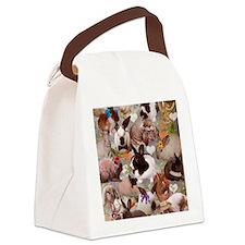 Happy Bunnies Canvas Lunch Bag
