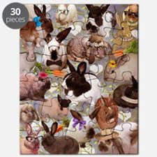 Happy Bunnies Puzzle