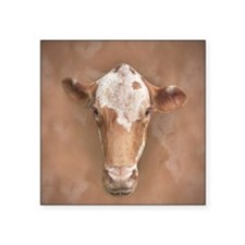 """Holy Cow! Square Sticker 3"""" x 3"""""""