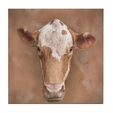 Holy Cow! Tile Coaster