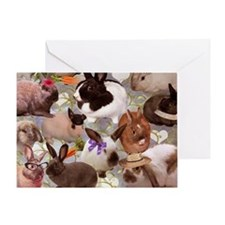 Happy Bunnies Greeting Card