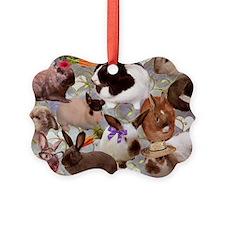 Happy Bunnies Ornament