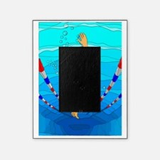 Woman swimming Picture Frame