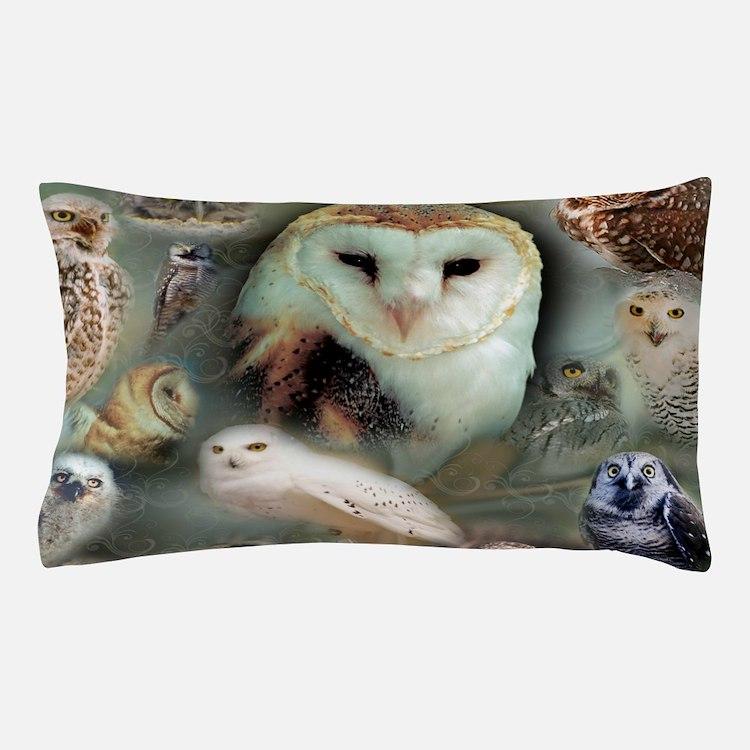 Happy Owls Pillow Case