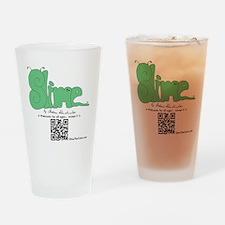 Slime T-shirt back Drinking Glass