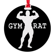 Gym Rat Bodybuilder Ornament
