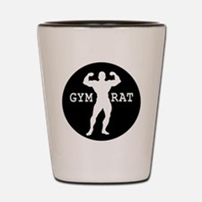 Gym Rat Bodybuilder Shot Glass