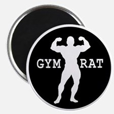 Gym Rat Bodybuilder Magnet