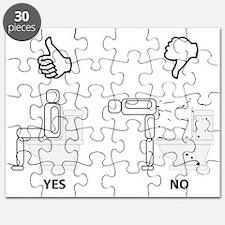 Proper Toilet Usage Puzzle