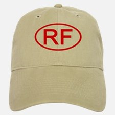RF Oval (Red) Baseball Baseball Cap