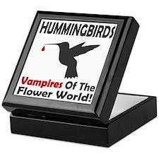 Hummingbirds Vampires Keepsake Box