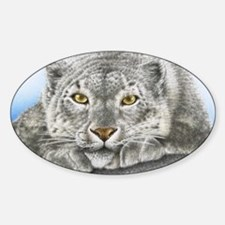Snow Leopard Laptop Skin Decal