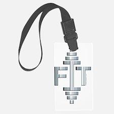 FIT -- Fit Metal Designs Luggage Tag