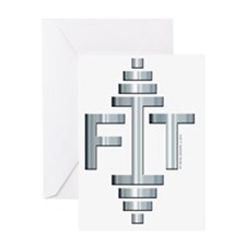 FIT -- Fit Metal Designs Greeting Card