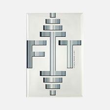 FIT -- Fit Metal Designs Rectangle Magnet