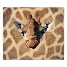 Giraffe Womens all over design - Front King Duvet