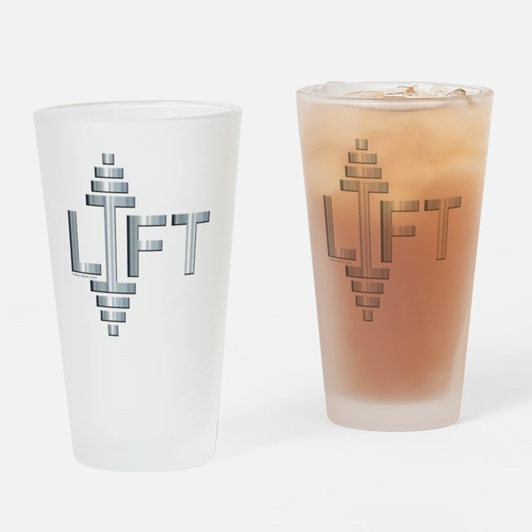 LIFT -- Fit Metal Designs Drinking Glass