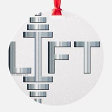 LIFT -- Fit Metal Designs Ornament