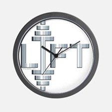 LIFT -- Fit Metal Designs Wall Clock