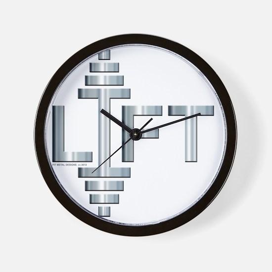 LIFT -- Fit Metal Designs Wall Clock