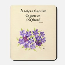 Poetry of an Old Friend Mousepad