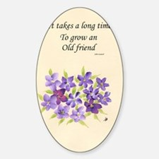 Poetry of an Old Friend Decal