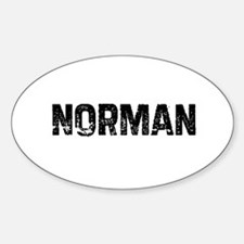 Norman Oval Decal