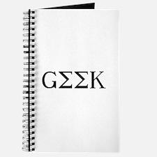 GEEK [GREEK] Journal