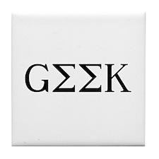 GEEK [GREEK] Tile Coaster