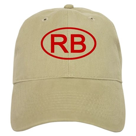 RB Oval (Red) Cap