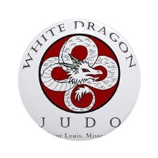 dragonjudologo Round Ornament