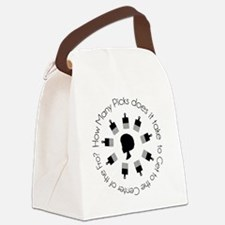 How Many Picks? Tee Canvas Lunch Bag