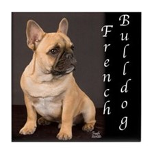 French Bulldog Puppy Tile Coaster