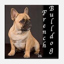 French Bulldog Puppy Tile Coaster