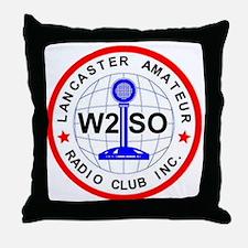 Lancaster Amateur Radio Club Throw Pillow