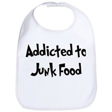 Addicted to Junk Food Bib