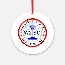 Lancaster Amateur Radio Club Round Ornament